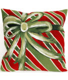 Trans-Ocean Visions Iii Pillow Gift Box 4202/06 Green Area Rug