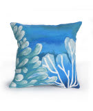 Trans-Ocean Visions Iii Pillow Reef 421203 Blue