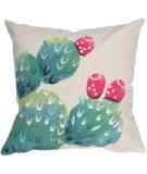 Trans-Ocean Visions Iii Pillow Cactus Pear 4314/12 Cream Area Rug