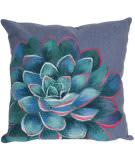 Trans-Ocean Visions Iii Pillow Succulent 4316/03 Lapis Area Rug