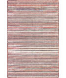 Trans-Ocean Dakota Stripe 6147/17 Brick Area Rug