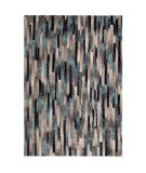 Trans-Ocean Fresco Broken Stripe 6127/03 Blue Area Rug