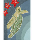 Trans-Ocean Frontporch Sea Turtle 1431/04 Ocean Area Rug