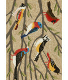 Trans-Ocean Frontporch Birds 1440/44 Multi Area Rug