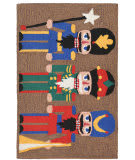 Trans-Ocean Frontporch Nutcracker 1837/44 Multi Area Rug