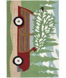 Trans-Ocean Frontporch Woody Wonderland 1853/16 Pine Area Rug