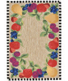 Trans-Ocean Frontporch Fruits 2409/44 Multi Area Rug