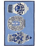 Trans-Ocean Frontporch Ginger Jars 2410/03 Blue Area Rug