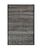 Trans-Ocean Rialto Tribal Stripe 7036/47 Grey Area Rug