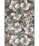 Trans-Ocean Riviera Tropical Flower 7649/33 Navy Area Rug