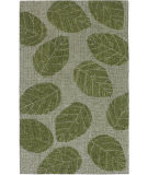 Trans-Ocean Savannah Leaf 9502/06 Green Area Rug
