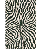 Trans-Ocean Visions I Zebra 3043/48 Black Area Rug