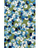 Trans-Ocean Visions Iii Pansy Blue Area Rug