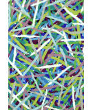 Trans-Ocean Visions Iii Pick Up Sticks Blue Area Rug