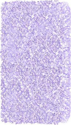The Rug Market America Kids Shaggy Raggy  02201 Lavender Area Rug