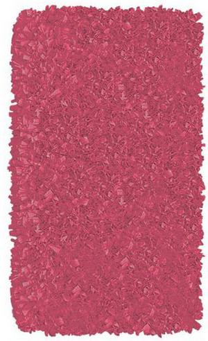 The Rug Market America Kids Shaggy Raggy  02207 Raspberry Area Rug