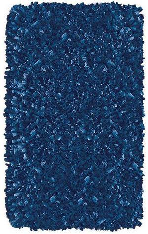 The Rug Market America Kids Shaggy Raggy D/blue 02216 Dark Blue Area Rug
