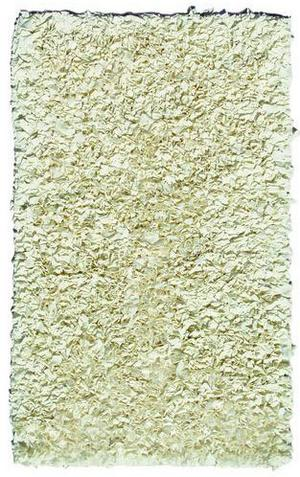 The Rug Market America Kids Shaggy Raggy Cream 02217 Cream Area Rug