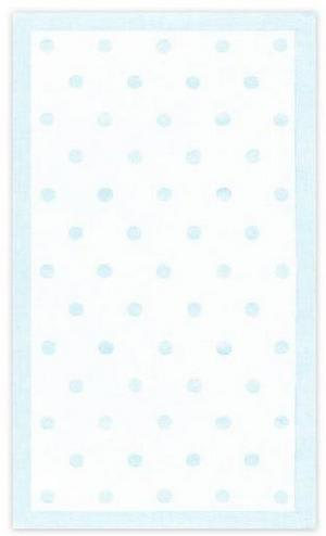 The Rug Market America Kids Polka Dots Lt Blue 11409 Light Blue Area Rug