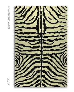 The Rug Market America Resort Zebra Brown 25219 Brown/cream Area Rug