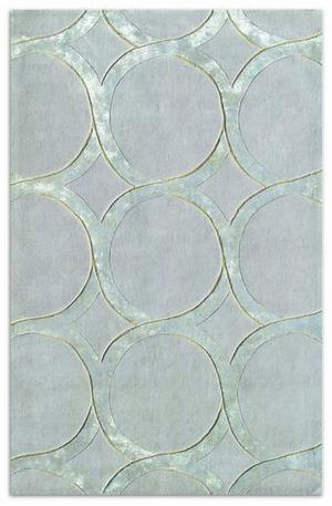 The Rug Market America Rexford Hedy Silver 44157 Grey/silver Area Rug