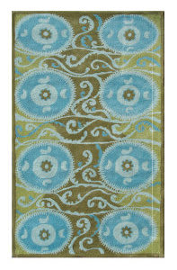 The Rug Market America Camden Oy  44303 Blue Area Rug