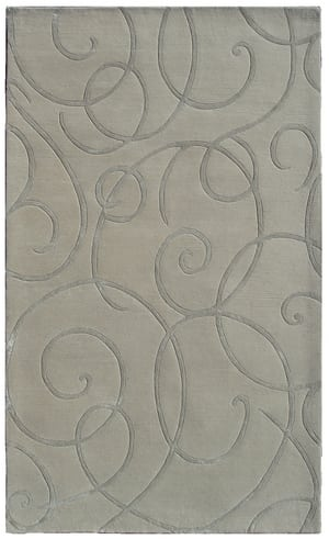 The Rug Market America Rexford Barney's 44310 Ivory/grey Area Rug