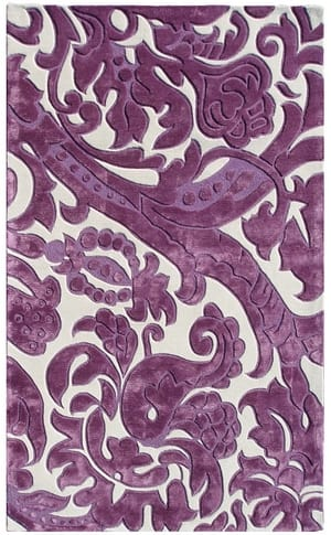 The Rug Market America Rexford Leoni 44311 Lavender/ivory Area Rug
