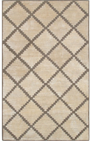 The Rug Market America Shabati Taos Cream 44181 Cream/Tan Area Rug