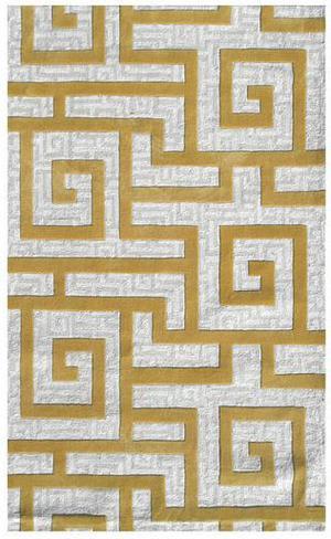 The Rug Market America Ecconox Rome  72334 Khaki/cream/gold Area Rug