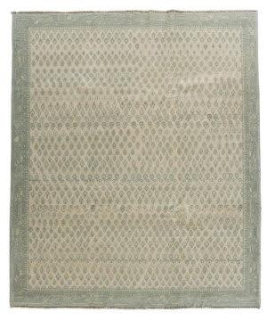 Tufenkian Knotted Teal 8' x 10' Rug