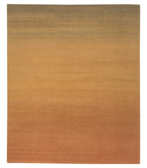 Tufenkian Knotted Twilight II Overdyed Desert Sand Area Rug
