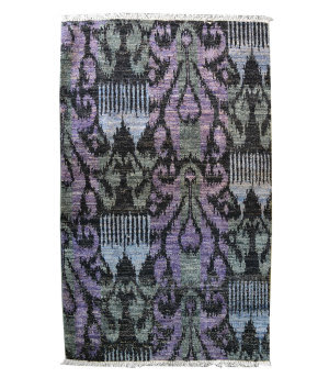 Tufenkian Knotted Purple 3' x 5' Rug