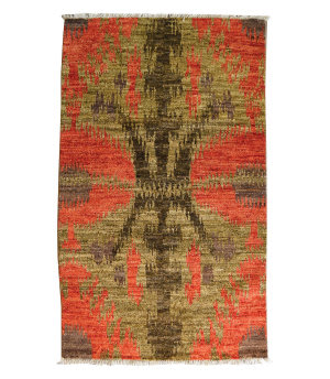 Tufenkian Knotted Coral 3' x 5' Rug
