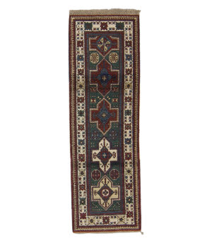 Tufenkian Knotted Pine Green 3' x 8' Runner Rug