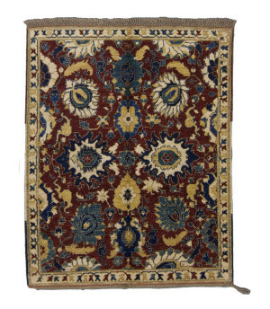 Tufenkian Knotted Red 6' x 7' Rug