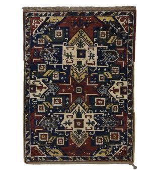 Tufenkian Knotted Star Kazak Ivory Area Rug