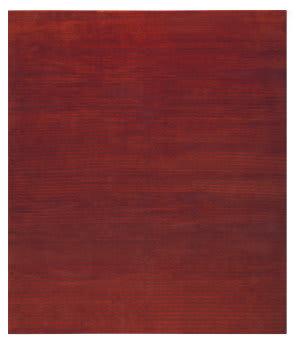 Tufenkian Tibetan Flip Side Red Pepper Area Rug