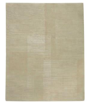 Tufenkian Tibetan Sketch Pad Pale Linen Area Rug
