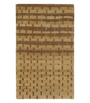 Tufenkian Tibetan Rag Weave Maize Area Rug
