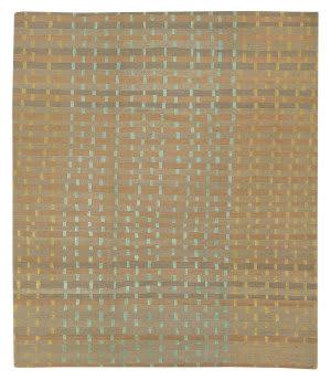 Tufenkian Tibetan Rag Weave Sealeaf Area Rug