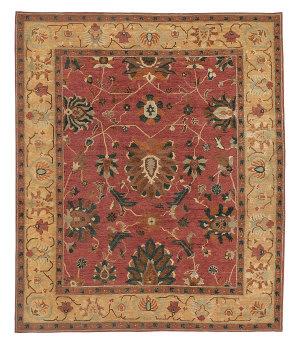 Tufenkian Tibetan Zara Rosewood Area Rug