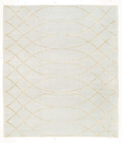 Tufenkian Shakti Arching Lattice Freshwater Area Rug