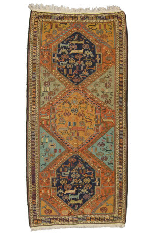 Tufenkian Knotted Brown 5' x 10' Rug