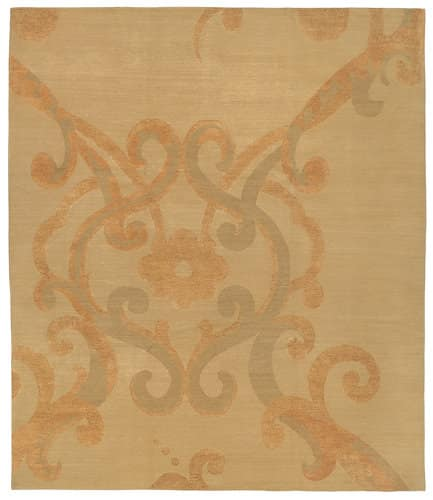 Tufenkian Shakti Assumed Arabesque Brulee Area Rug