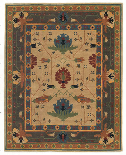 Tufenkian Setana Big Donegal Tiffany Area Rug