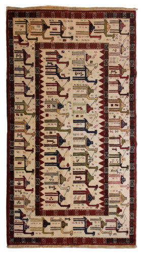 Tufenkian Knotted  5' x 8' Rug