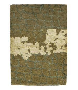 Tufenkian Tibetan Forest Green 2' x 3' Rug
