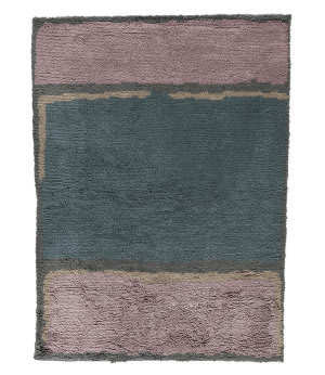 Tufenkian Knotted Lilac 6' x 9' Rug