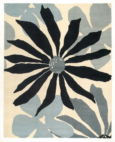 Tufenkian Lama Daisy Mae Touch Of Grey Area Rug